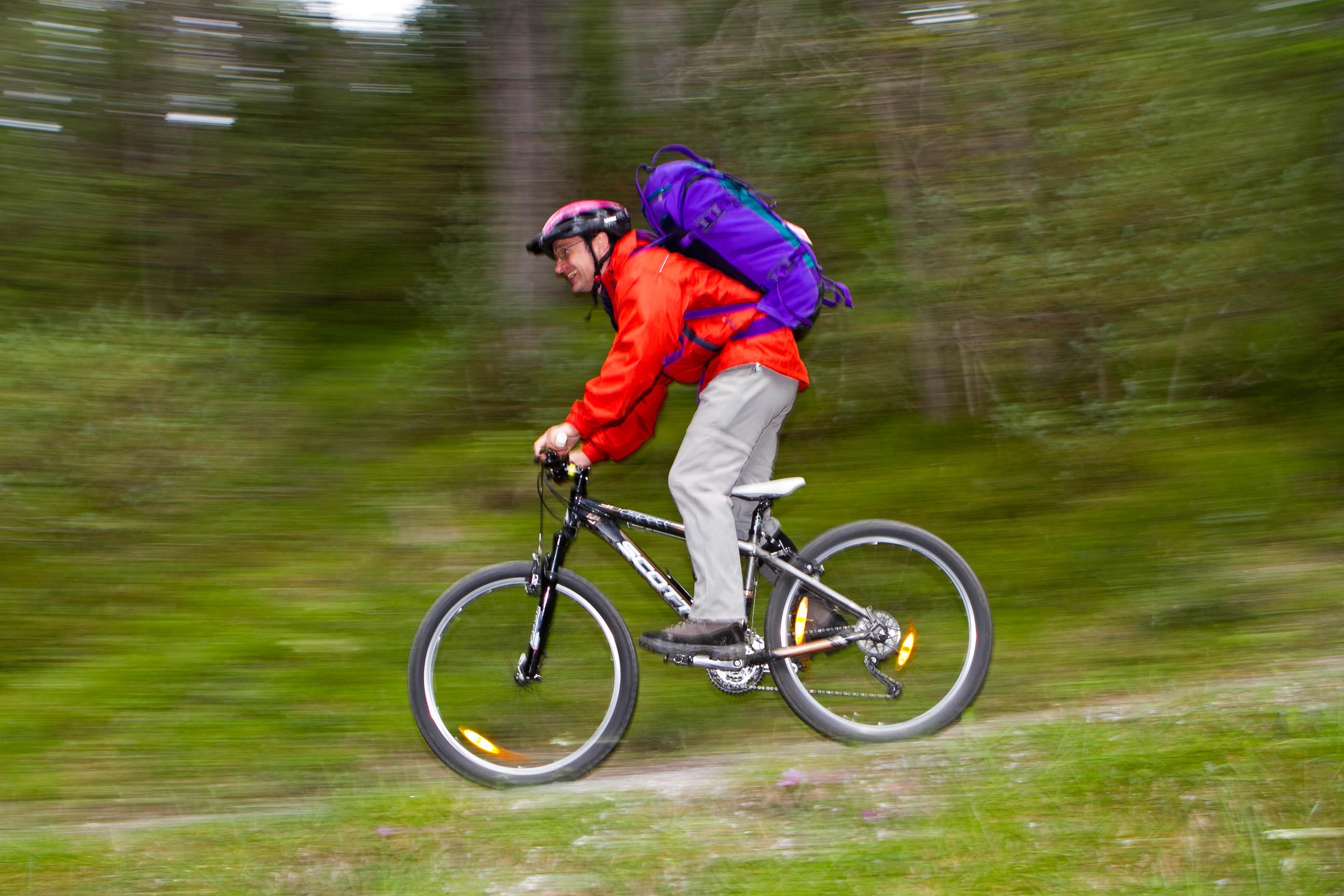 Downhill fahren in Tirol