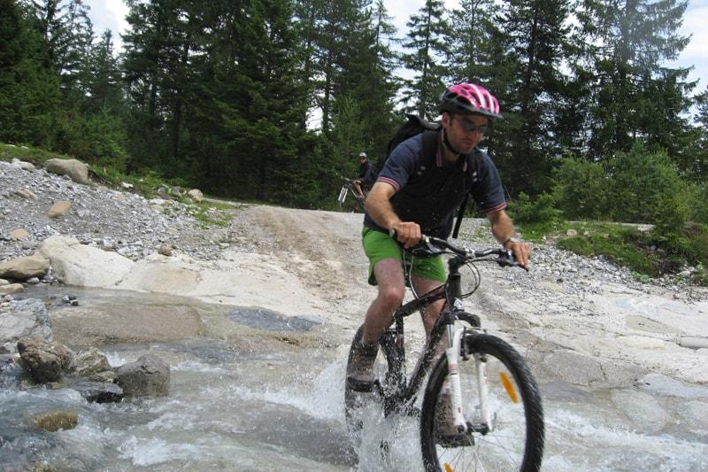 Rafting und Mountainbike in Österreich