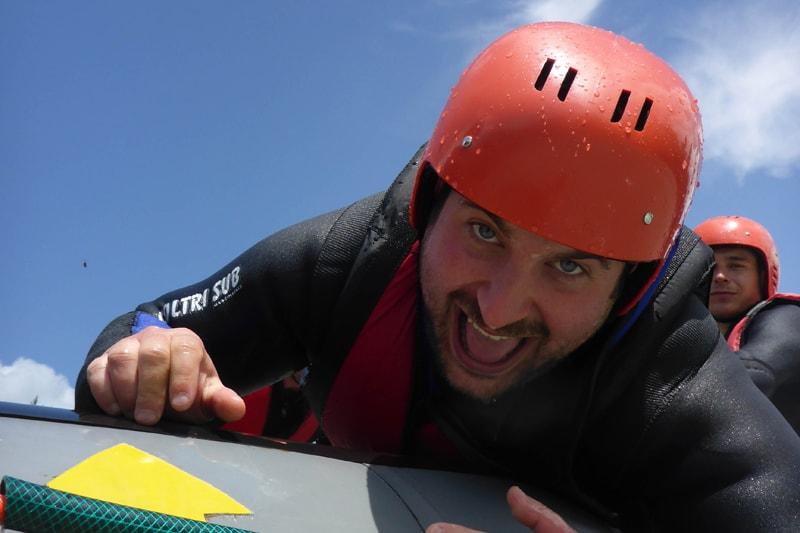 Rafting Junggesellenabschied billig