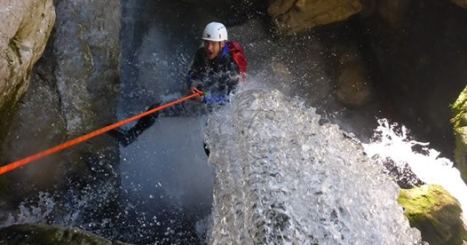 Unser Canyoning Programm