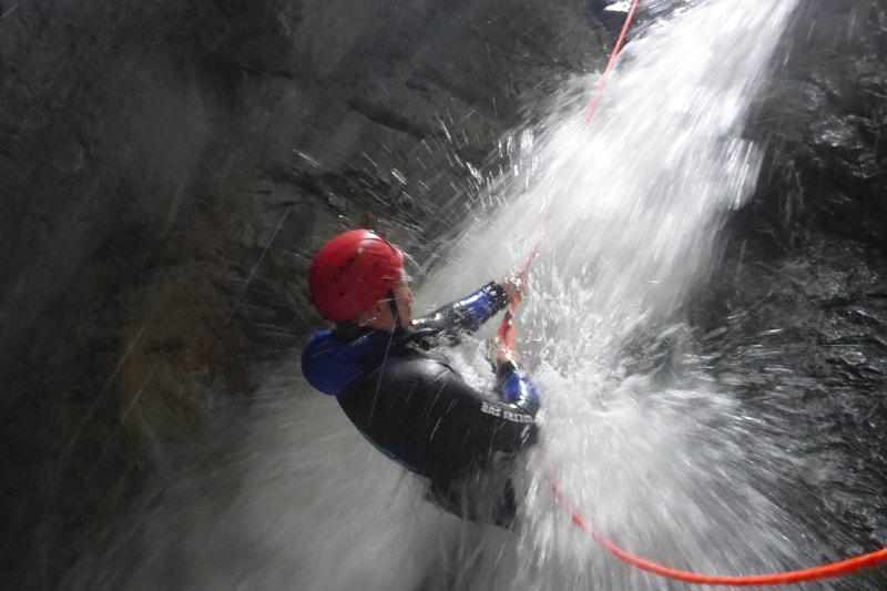 Canyoning Kronburg Tirol