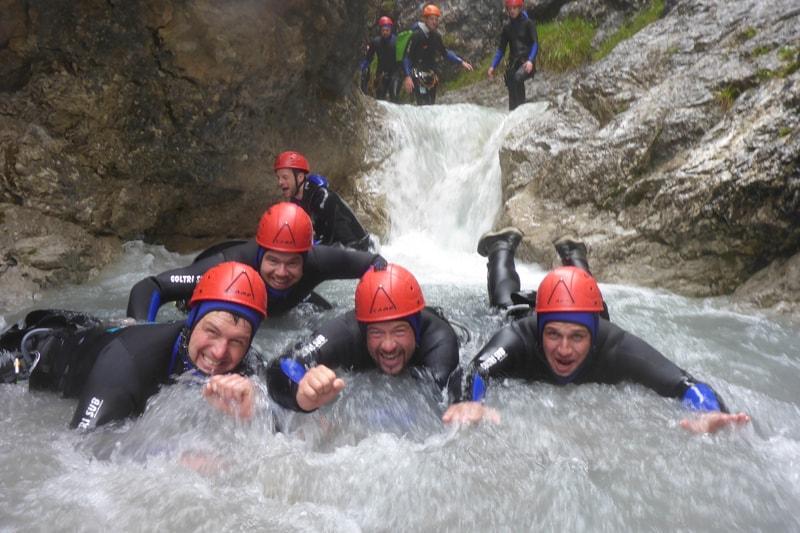 Familiencanyoning Tirol