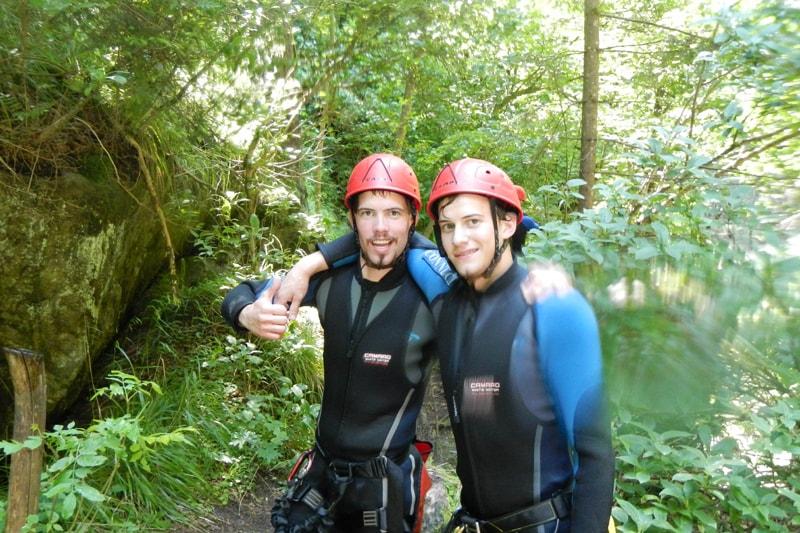 Canyoning Tagestour Tirol