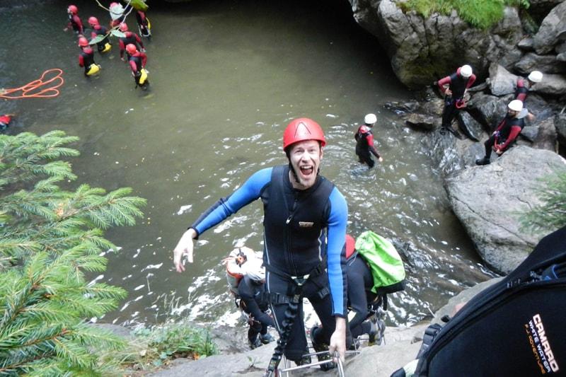 Canyoning JGA Alpen