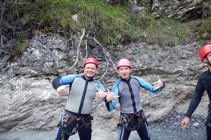 Canyoning Wochenende Österreich, Tirol