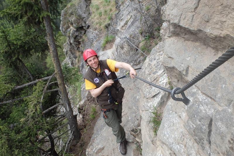 Klettersteig Tirol : Geführte klettersteig touren in imst nassereith