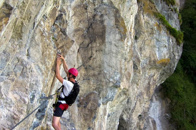 Klettersteig schwer Imst