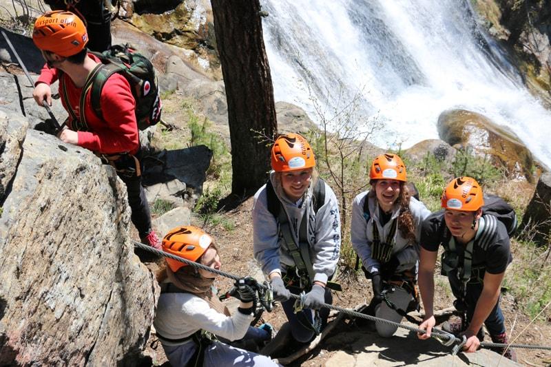 Klettersteig Teamevent