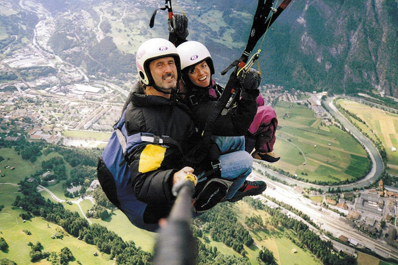 Paragliding im Ötztal