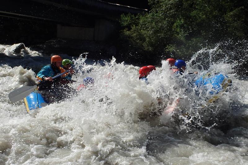 Rafting Engadin Giarsun