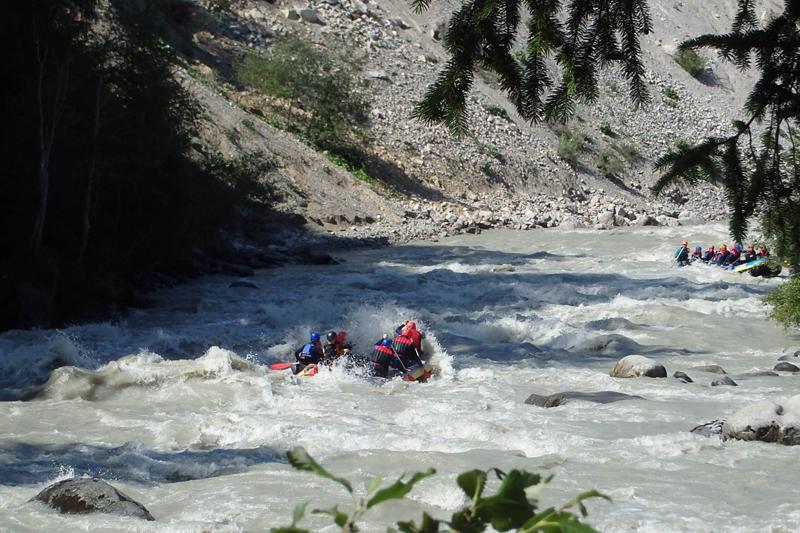 Rafting Wochenende in Tirol