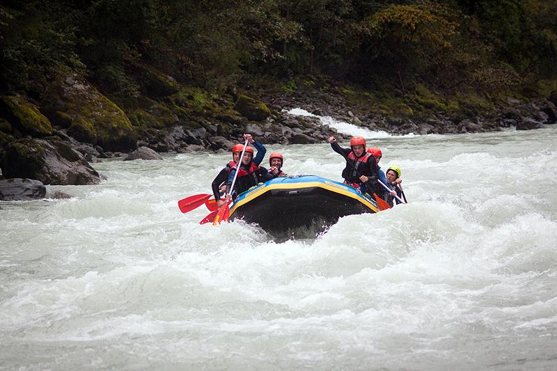 Bootsführer Ausbildung Rafting Tirol