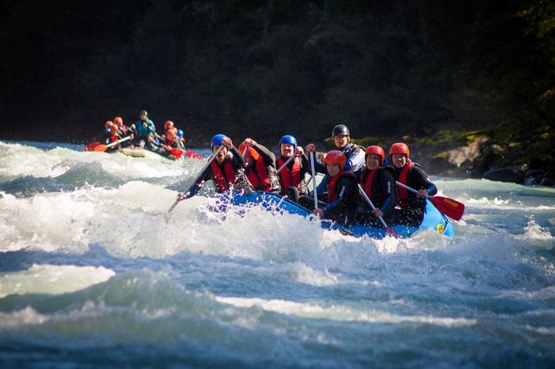 Rafting JGA Österreich