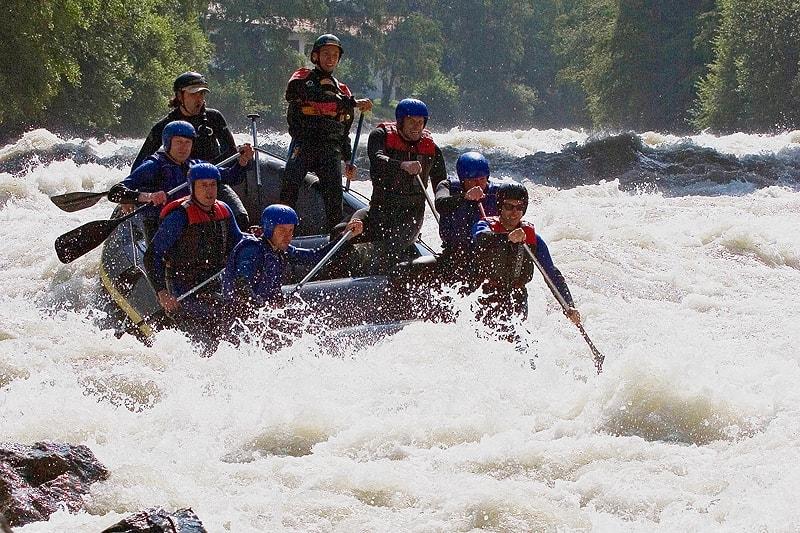 Wildwasser Rafting Ötztaler Ache