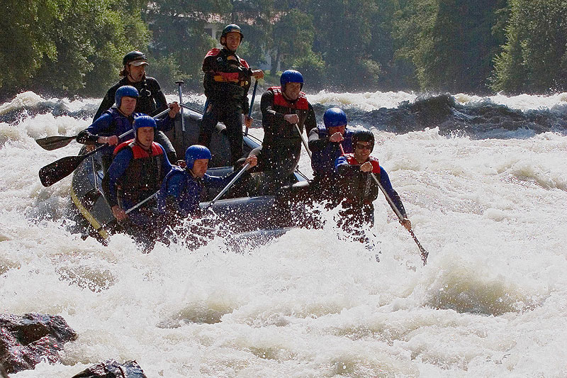 Rafting Imster Schlucht Advanced