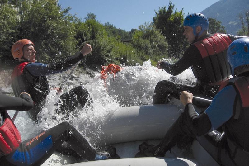 Rafting für Firmengruppen