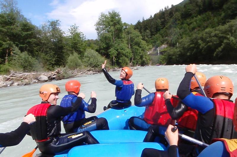 Rafting Wochehende in Tirol für Einsteiger