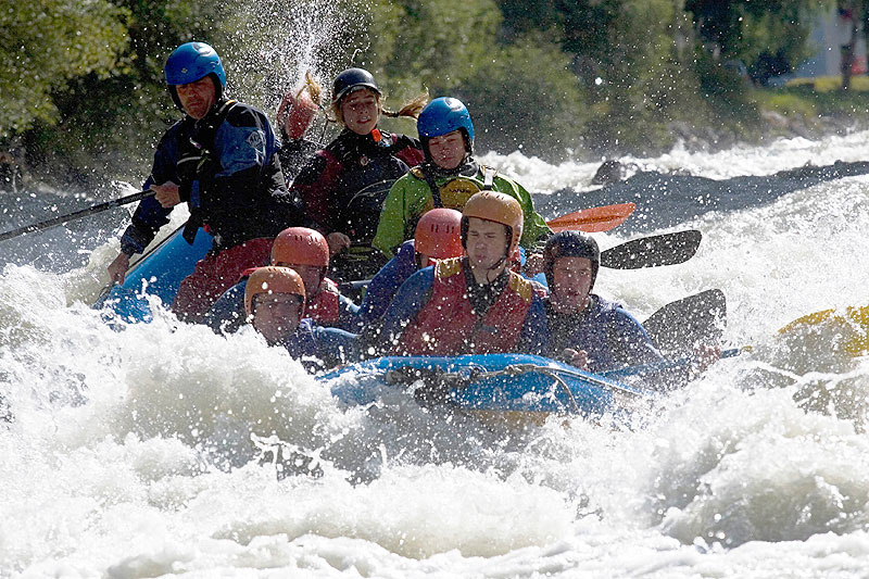 Wildwasserrafting in Tirol