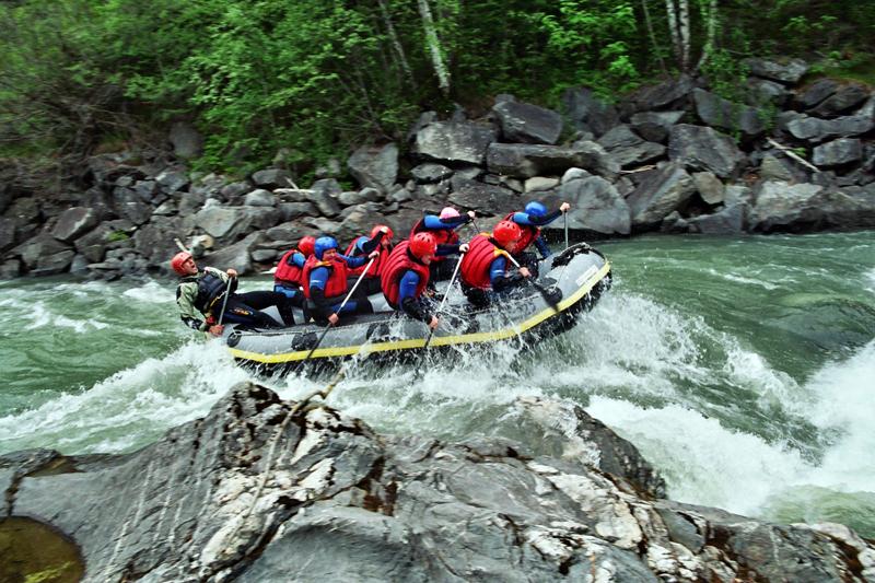 Sanna Rafting