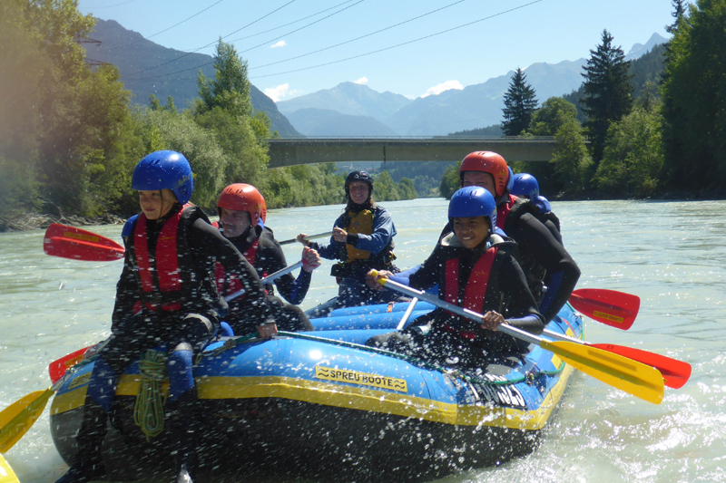 Rafting in Tirol