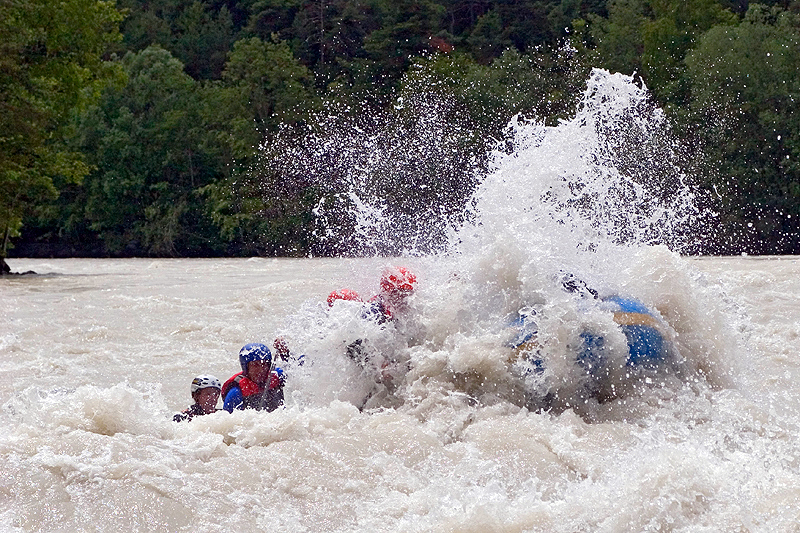Wildwasser Action Rafting