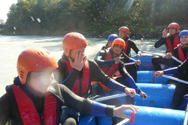 Rafting im Ötztal