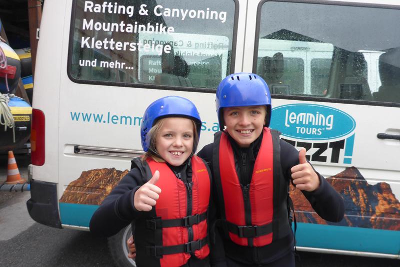 Rafting und Canyoning Wochenende