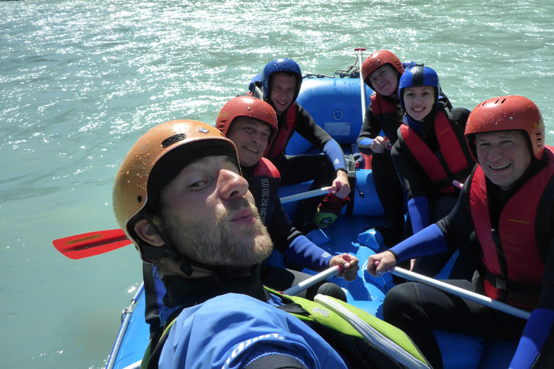 Rafting Spaß