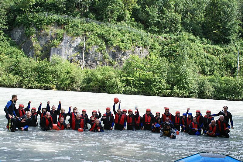 Rafting für Firmen
